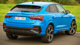 Drive Car of the Year Best Small Luxury SUV finalist Audi Q3 Sportback rear exterior view