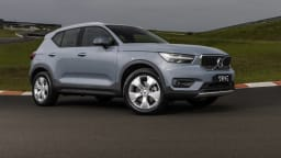 Drive Car of the Year Best Small Luxury SUV finalist Volvo XC40 front exterior