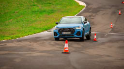 Drive Car of the Year Best Small Luxury SUV finalist Audi Q3 Sportback on road