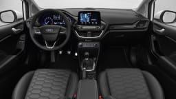 Seventh-gen Ford Fiesta interior