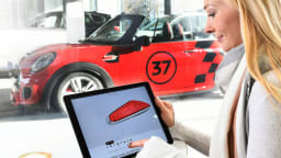 Mini is giving customers the opportunity to individualise their cars.