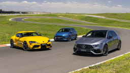 Drive Car of the Year Best Sports Car Under $100k group shot