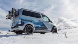Nissan unveils e-NV200 all-electric camper concept