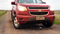 2012 Holden Colorado LX Manual 4x4 On-Road Review