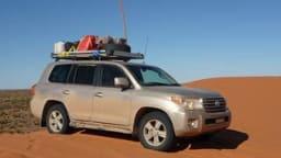 Toyota LandCruiser Sahara 200-Series: