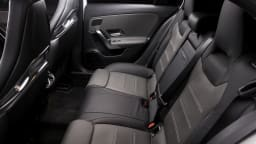Drive Car of the Year Best Sports Car Under $100k finalist Mercedes-AMG A45 S interior rear seating