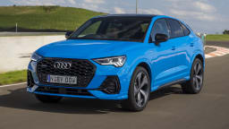 Drive Car of the Year Best Small Luxury SUV finalist Audi Q3 Sportback front exterior