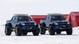 Hilux Tackles South Pole Terrain