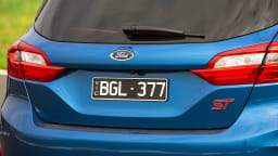 Drive Car of the Year Best Sports Car Under $100k finalist Ford Fiesta ST rear exterior