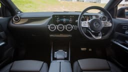 Drive Car of the Year Best Small Luxury SUV finalist Mercedes-Benz GLA full interior view