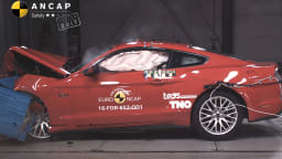 Ford Mustang Safety Rating Steps Up To 3-Stars - Euro NCAP
