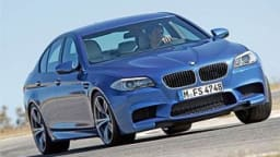 BMW M5 first drive review