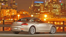 2009 BMW Z4 SDrive35i - Orion Silver Metallic Docklands, Melbourne 3rd September 2009 (C) Joel Strickland Photographics Use information: This image is intended for Editorial use only (e.g. news or commentary, print or electronic). Any commercial or promot