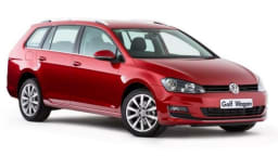 Functional hatch: The Volkswagen Golf wagon triumphs with a classy cabin ambience, refined road manners, and fuel-saving technology.