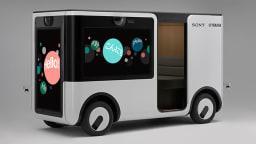 Yamaha Sony SC-1 autonomous vehicle has no windows