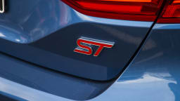 Drive Car of the Year Best Sports Car Under $100k finalist Ford Fiesta ST label