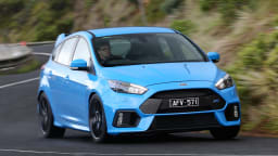 2018 Ford Focus RS.