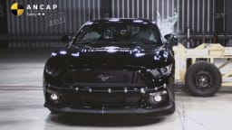 Ford Mustang lacked several key safety technology components such as autonomous emergency braking.