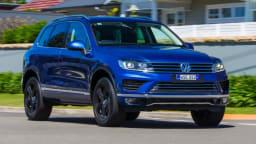 2017 Volkswagen Touareg Wolfsburg Edition.