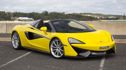 2018 McLaren 570S Spider new car review