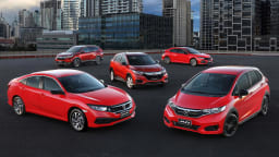 Honda launches 50 Years Editions