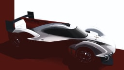 Porsche LMDh racing concept.