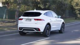 2018 Jaguar E-Pace.