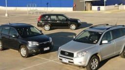 Honda CR-V comparo