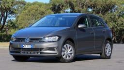 2018 Volkswagen Polo Comfortline.