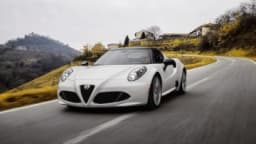 The 2015 Alfa Romeo 4C Spider is a car that likes to be driven.