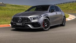 Drive Car of the Year Best Sports Car Under $100k finalist Mercedes-AMG A45 S