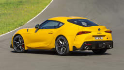 Drive Car of the Year Best Sports Car Under $100k finalist Toyota GR Supra rear exterior
