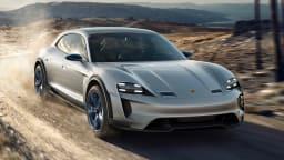 2018 Porsche Mission E Cross Turimso.