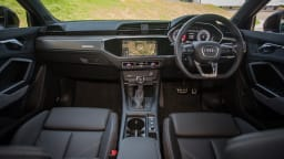 Drive Car of the Year Best Small Luxury SUV finalist Audi Q3 Sportback front interior full view