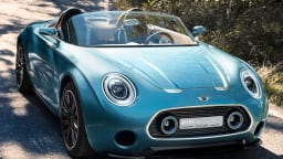 MINI Superleggera Vision Roadster Concept Revealed