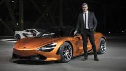 McLaren Appoints Rob Melville As Design Director