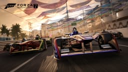 Formula E machines in Forza 7