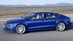 The 2015 Audi S7.