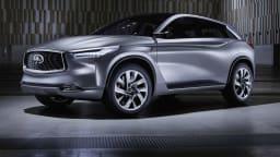 Infiniti QX Sport Inspiration Previews New Midsized SUV