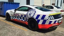 Ford Mustang Spied In NSW Police Highway Patrol Livery