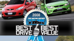 First Annual TMR 'BEST DRIVE, BEST VALUE' Award