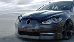 Jaguar XFR Clocks 360km/h At Bonneville - Faster Than XJ220