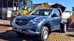Mazda's BT-50 performed admirably with a load on board.
