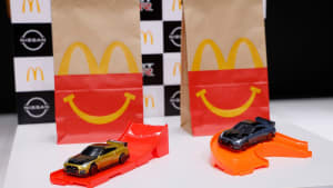 2022 Nissan GT-R Nismo comes as McDonald's Happy Meal toy