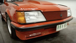 Another Peter Brock car for auction: 1982 Holden Commodore VH SS