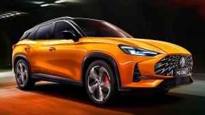 MG goes upmarket: The Chinese brand's mid-size SUV goes premium