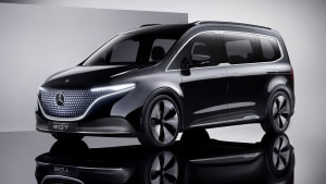 Mercedes' Electric people mover concept previews future model