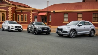 Drive 2017 Best Luxury SUV Under $80k group shot