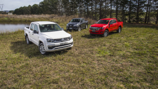Drive 2019 Best 4x4 Work Ute group shot