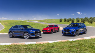 Drive Best Sports Performance SUV 2021 finalists group photo